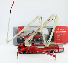 1/50 Scale Sany 62M Water Tower Fire Truck Metal Model Diecast