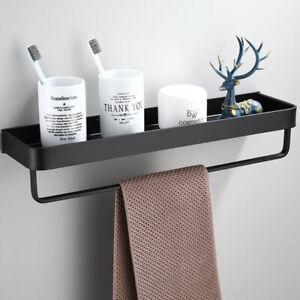 Bathroom Shelf Wall Shelves Corner Wall Mounted Aluminum Kitchen Storage Holder&