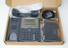 Cisco SPA504G 4 Line VoIP Business Office Phone No Power Adapter