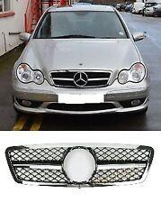 Mercedes Clase C W203 AMG Sport Look Parrilla C320 C55 C180 C200 C220 C230 C270 CDI