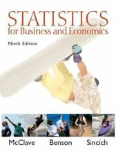 Statistics for Business and Economics (9th Edition)-ExLibrary