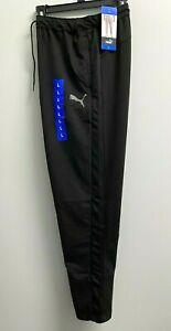 Puma Mens StretchLite L,XL,XXL Training Pants BLACK  Pockets Lightweight Active