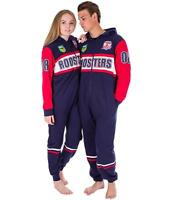 NRL Onesie Footy Suit - Sydney Roosters - Infant Kids Youth Adult - All Sizes