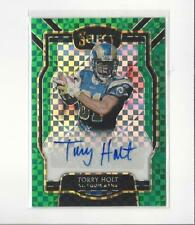 2018 Select Signatures Prizm Green Torry Holt AUTOGRAPH Rams /5