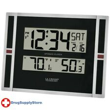PE Indoor/Outdoor Thermometer & Atomic Clock