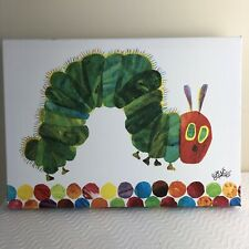 """Eric Carle The Hungry Caterpillar Wrapped Canvas Wall Art 13.75"""" x 10"""" x 1.5"""""""