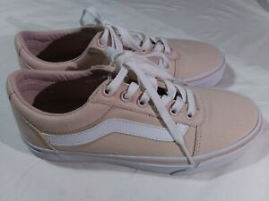 Vans Off The Wall Women's Skateboard Shoes US Size 6.5 Soft Pink 721356 #Z17