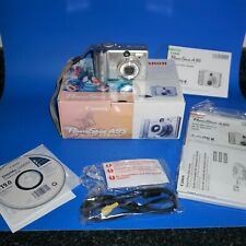 Canon PowerShot A95 Digital Camera Working 5 MP 12X Optical Zoom Original Box KH