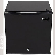 Compact Upright Freezer w Lock 1.1CuFt Small Black Kitchen Office Appliance 115V