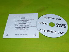 ED BANGER - BOSTON BUN - FEADZ & KITO - RITON -CASHMERE CAT!! CD PROMO !!FRANCE!