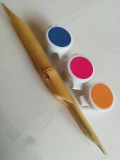1 Bamboo Reed Pen For Calligraphy Writing (Arabic & Farsi) With 3 Pots of Ink