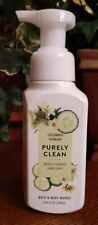 PURELY CLEAN BY BATH AND BODY WORKS GENTLE FOAMING SOAP IN CUCUMBER VERBENA