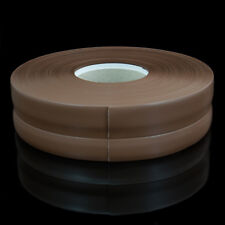 MARRON FONCÉ PLINTHE SOUPLE 32mm x 23mm PVC sol mur jointure flexible