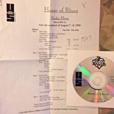 Radio Show: HOUSE OF BLUES 8/7/99 LEON RUSSELL TRIBUTE; BOB DYLAN, JOE COCKER