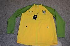 Nike CBF Brasil Elite Revolution Woven 3 Jacket SZ M 802447 703  RIO Olympics