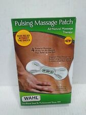 WAHL Pulsing Massage Patch All Natural Massage Therapy Wahl Comfort Flex Design