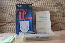 Shin Megami Tensei If w/box reg card Nintendo Super Famicom SFC VG+!