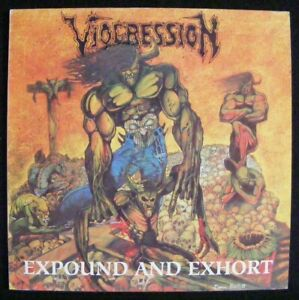 Viogression – Expound And Exhort (1991) LP first press; Vinyl nm, Cov vg+++