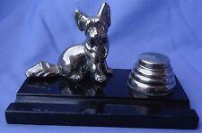 Art Deco Skye Silky Terrier Papillon Briard Dog Ronson Inkwell