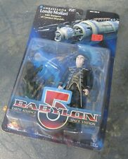 Babylon 5 figure Lando Mollari with Centauri Transport -Exclusive Premiere Moc