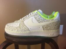 DS Nike Air Force 1 '07 LE DB Doernbecher Colin Couch White Volt Sz 12.5 13