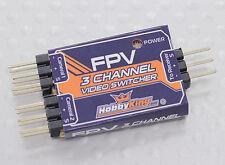 FPV Transmitter GoPro & Camera Video Switch Module Use 3 Cameras DJI Phantom USA
