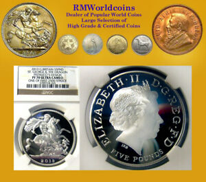 Gt. Britain 2013 5 Pds, Rare Gem Proof, NGC DCAM 70,  Early Release 2,500 pcs.