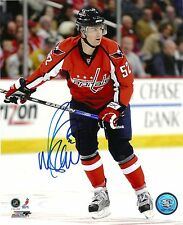 MIKE GREEN SIGNED 8X10 DETROIT RED WINGS WASHINGTON CAPITALS STAR DMAN  AUTOGRAPH  4dfaa4107553