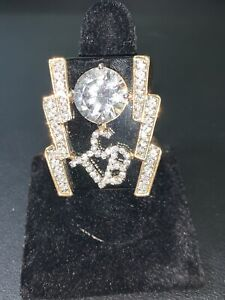 Elvis Replica TCB Ring Taking Care Of Business / Direct From Memphis Size 12