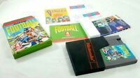 NES Play Action Football Nintendo NES Game CIB Complete In Box Boxed Tested