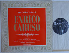 "The Golden Voice Of Enrico Caruso (7485) 12"" LP 1963 ARC FDY 2063"