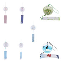 Japanese Culuture Glass Wind Bell Furin Wind Chimes Home Hanging Decor