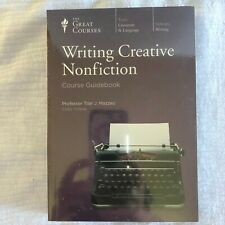 Great Courses Writing Creative NonFiction DVDs 24 Lectures Course Guidebook Set