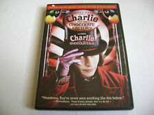 Charlie and the Chocolate Factory (DVD, 2-Disc Deluxe Edition) Canadian