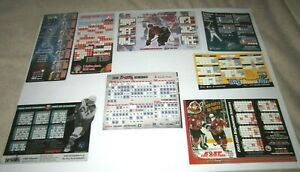Sports Teams Magnetic Schedules (8)