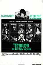 Terror In Wax Museum Poster 01 Metal Sign A4 12x8 Aluminium