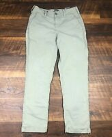NYDJ Not Your Daughters Jeans RILEY Relaxed Chino Gray sz 4 Women's Casual Pants