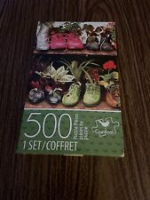 "Jigsaw Puzzle 500pc Shoes with Plants 11""X14"" Cardinal  Puzzles"