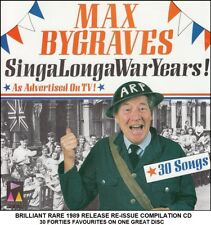 Max Bygraves Very Best Greatest Hits Collection RARE Sing-A-long 40's Oldies CD