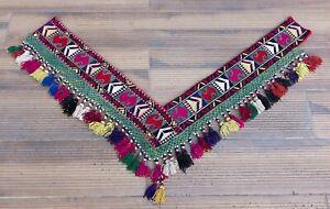 """7.09"""" x 42.52"""" Tassel Segusha Belly Dance Uzbek VINTAGE FAST Shipment UPS 12027"""