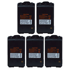 Lot 5 Li-ion Battery BP-265 for ICOM IC-F3002 IC-F4002  IC-F27SR Portable Radio