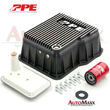 Allison Transmission Deep Aluminum Pan upgrade kit from PPE Duramax Chevy GMC