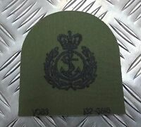 Genuine British Royal Navy RN Chief Petty Officer (CPO) OD  Subdued Patch  EPB48