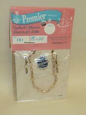 "Vintage Premier Doll Jewelry, Nrfp #181 Fits 15-20"" Dolls, Cissy, Sweet Sue, etc"