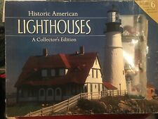 Historic American Lighthouses 6 Miniature Lighthouses