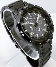 New Men's Wrist Watch Black Metal Strap Classic Casual Sports Good Design