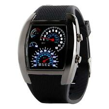LED Backlight Military Wrist Watch Sport Meter Dial Watches for Men Holiday Gift