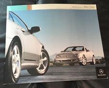 2004 MERCEDES SLK CLASS ORIGINAL PRESTIGE DEALER CAR SALES BROCHURE