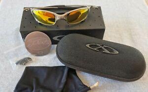 Oakley Juliet X Metal Plasma Fire iridium Lenses With Vault - Sunglasses