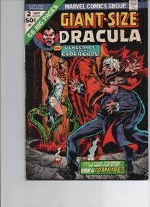 Giant-Size Dracula #2 (marvel 1974 )FN